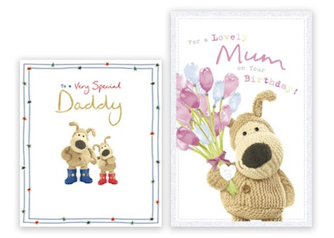 Boofle Captioned Cards